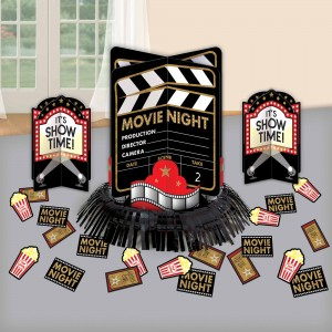 Glitz & Glam Movie Night Table Decorating Kit
