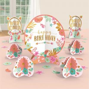 Boho Girl Table Decorating Kit