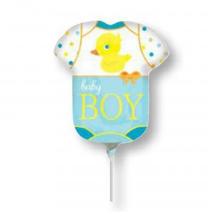 Baby Shower - General Mini Bodysuit Shaped Balloon