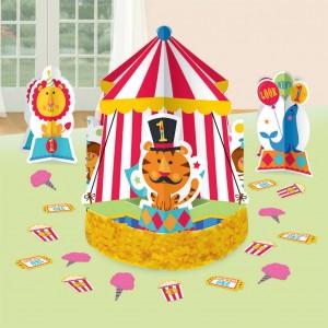 Fisher Price 1st Birthday Circus Table Decorating Kit