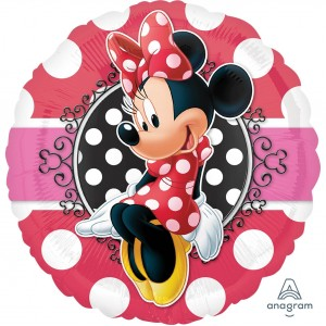 Minnie Mouse Standard HX Minnie Portrait ii Foil Balloon