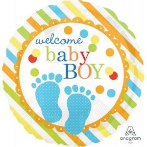 Baby Shower - General Standard HX Baby Feet Foil Balloon