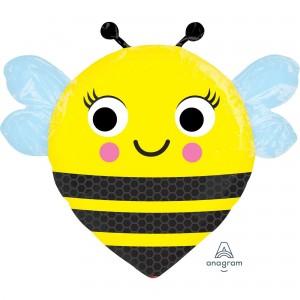 What Will It Bee? Happy Buzz'n Bee Foil Balloon