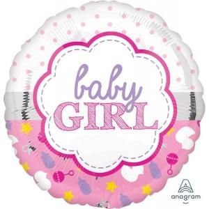 Baby Shower - General Standard HX Scallop Foil Balloon