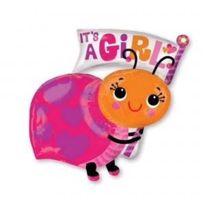 Baby Shower - General SuperShape Ladybug Shaped Balloon