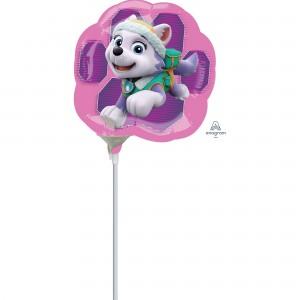Paw Patrol Girl Mini Skye & Everest Shaped Balloon