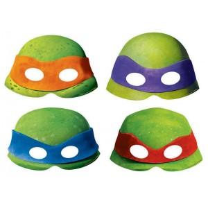 Teenage Mutant Ninja Turtles Paper Party Masks