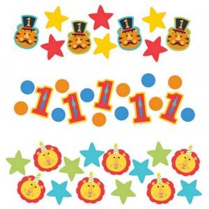 Fisher Price 1st Birthday Circus Confetti