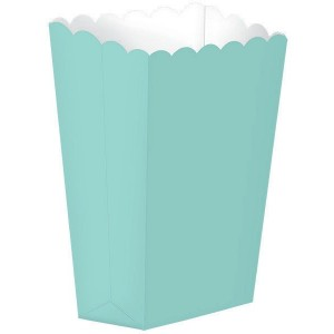 Blue Robin's Egg Small Popcorn Favour Boxes