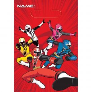 Power Rangers Ninja Steel Loot Favour Bags