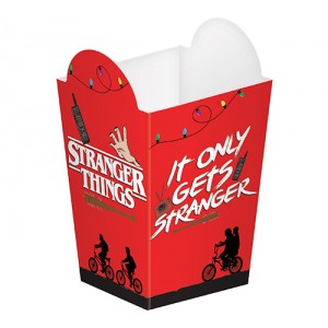 Halloween Stranger Things Popcorn Container Favour Boxes