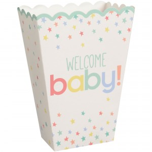 Baby Shower - General Neutral Popcorn Boxes Favour Boxes