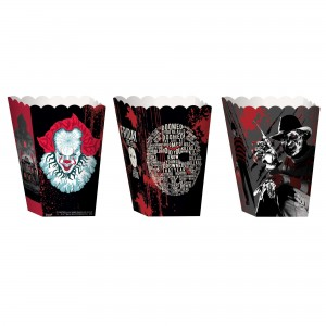 Halloween Warner Brothers Horror Popcorn Favour Boxes