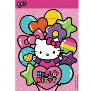 Hello Kitty Rainbow Folded Loot Favour Bags