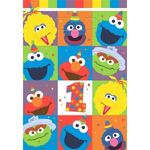 Elmo Turns One Loot Favour Bags