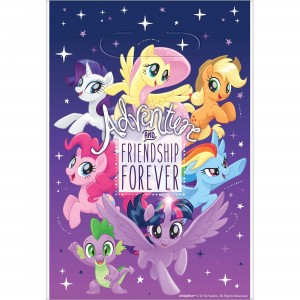 My Little Pony Friendship Adventures Folded Loot Favour Bags