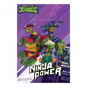 Teenage Mutant Ninja Turtles Rise of the  Folded Loot Favour Bags
