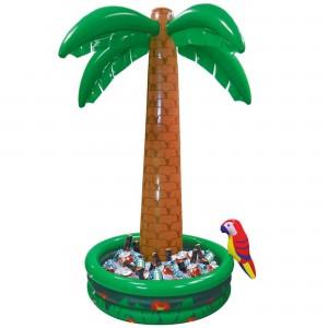 Hawaiian Inflatable Palm Tree Cooler