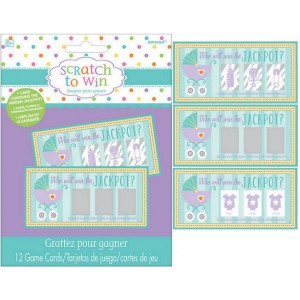 Baby Shower - General Scratch Off Cards Party Games