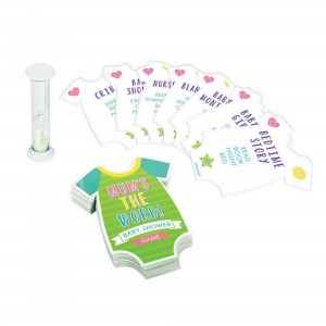 Baby Shower - General MuMini Shape the Word Party Game
