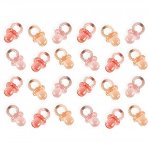 Baby Shower - General Pink Mini Pacifiers Favours