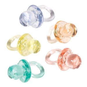 Baby Shower - General Multi Coloured Mini Pacifiers Favours