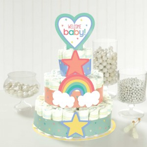Baby Shower - General Neutral Diaper Cake Kit Misc Accessorie