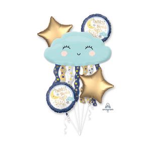 Twinkle Little Star Bouquet Foil Balloons
