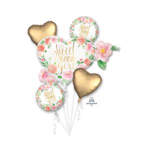 Baby Shower - General Bouquet Floral Foil Balloons