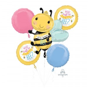 What Will It Bee? Bouquet Foil Balloons