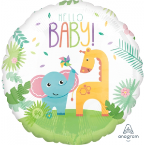 Fisher Price Hello Baby Jumbo HX Shaped Balloon