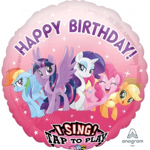 My Little Pony Sing-A-Tune Foil Balloon
