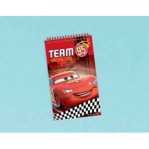 Disney Cars Formula Racer Notepad Favour