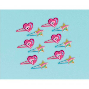 My Little Pony Friendship Hair Clips Favours