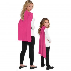 Pink Cape Costume Accessorie