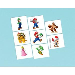 Super Mario Tattoo Favours