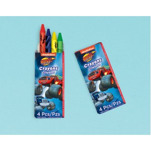 Blaze & The Monster Machines Mini Crayon Favours