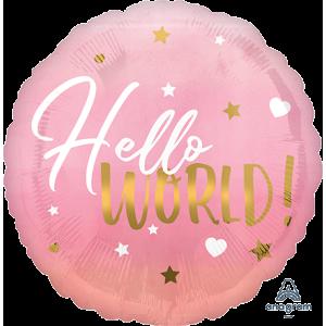 Oh Baby Girl Pink Standard HX Foil Balloon