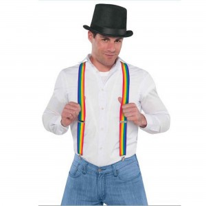 Rainbow Suspenders Costume Accessorie