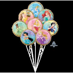 Disney Princess Once Upon A Time Bouquet Foil Balloons