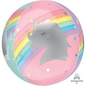 Magical Rainbow Unicorn Shaped Balloon