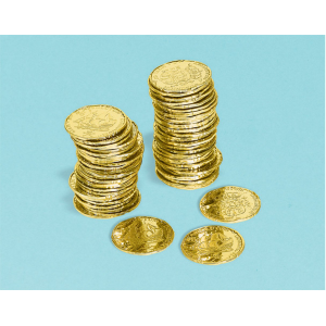 Pirate's Treasure Gold Coin Favours