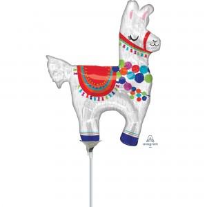 Llama Fun Mini Llama Shaped Balloon