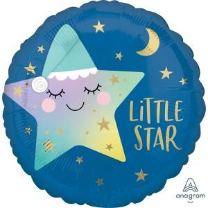 Twinkle Little Star Standard HX Sleepy Foil Balloon