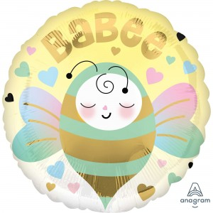 Baby Shower - General Standard HX Babee Bee Foil Balloon