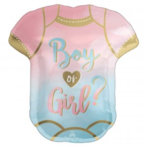 Gender Reveal SuperShape The Big Reveal Shaped Balloon