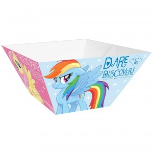 My Little Pony Friendship Adventures Small Paper Snack Bowls