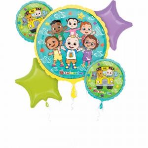 Cocomelon Bouquet Foil Balloons