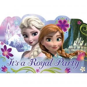 Disney Frozen Postcard Invitations