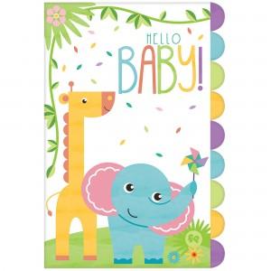Fisher Price Hello Baby Postcard Invitations